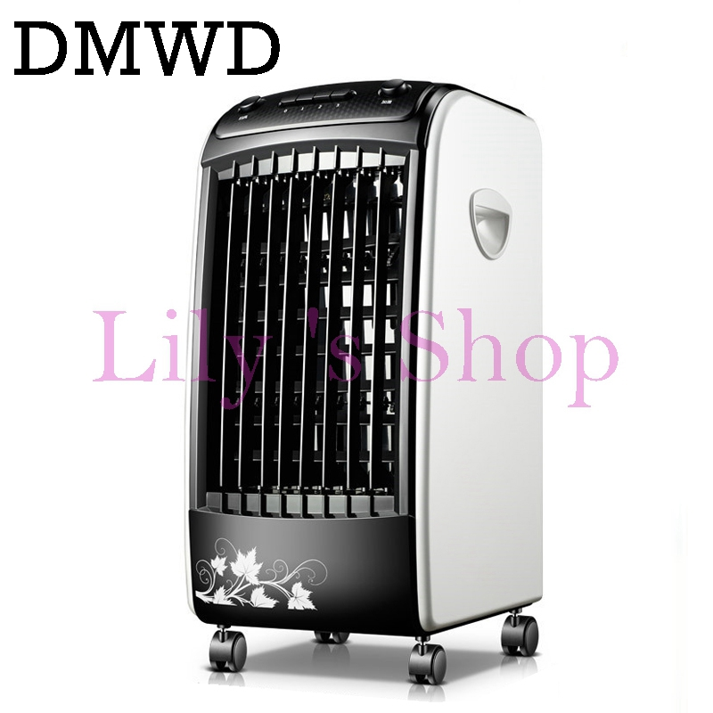 Summer Portable Strong Wind Air Conditioning Humidifier Fan Cooler  Conditioner Spray Cooling Fan Negative Ions EU US Plug Remote
