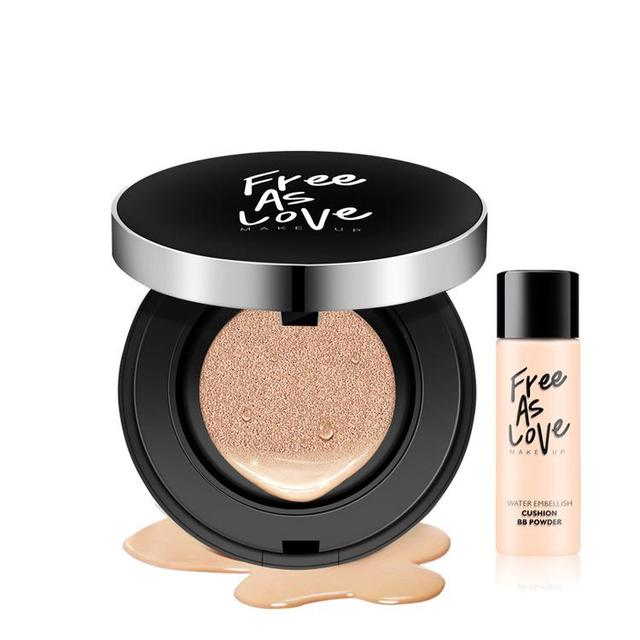 2017 Air Cushion Bb Cream Concealer Moisturizing Foundation Makeup Bare Strong Whitening Face Beauty Makeup