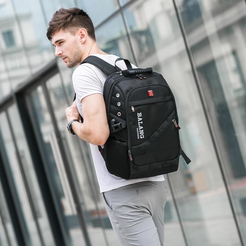 Image 3 - BaLang Brand Design Man Laptop Backpack Mens Travel Bag  Waterproof Shoulder Bags for Computer School Nylon Bags Travel  Backpacklaptop backpacks menmen laptop backpackbackpack brand -