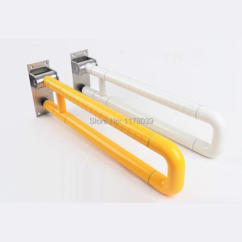 75cm Stainless Steel Grab Bars,toilet Folding Armrest,safety Handrails For  Bathrooms,old