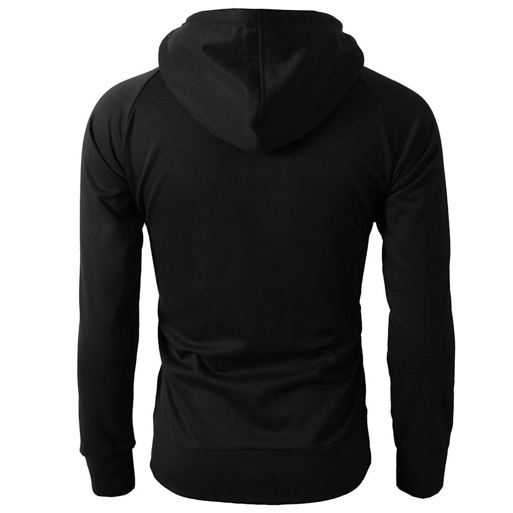 Zipper Hoodie Pullover  2