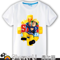 Cotton short sleeve kids t shirts cute cartoon,children boy wear summer Hot Sale Clothes Summer fireman team Tops Girls