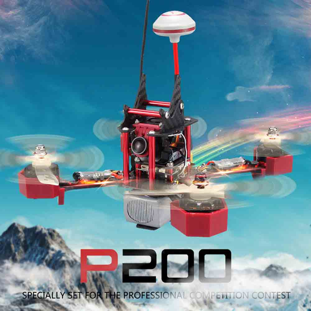DIY Racing Drone JJRC JJPRO P200 Multicopter With 5.8G FPV Jumper HD Camera 2.4G 6Ch 800TVL Skyline32 Acr Flight Controll ARF jjrc jjpro p175 5 8g 40ch fpv rc racing drone arf
