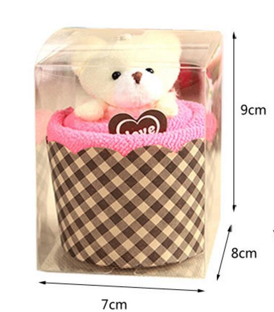 10 pcs dalam kotak ritel Baru Kedatangan Kreatif Indah Mini Beruang - Tekstil rumah