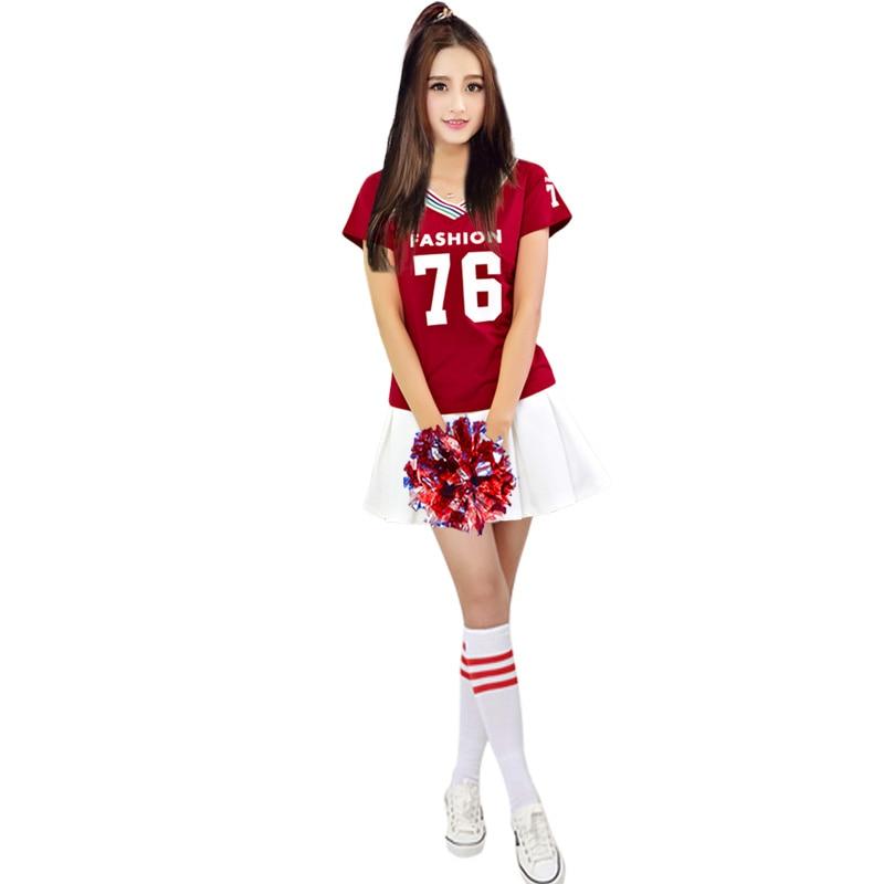Cheerleader Costume Cheerleading Clothing Costumes Cheerleader Dress Dance Football Basketball Costume Cheerleading Costume