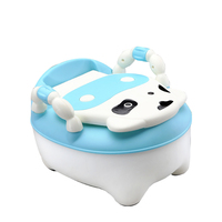 Baby Potty Training Toilet Plastic Kids Toilet Seat Foldable Portable Travel Potty Chair Infant Children Toilet