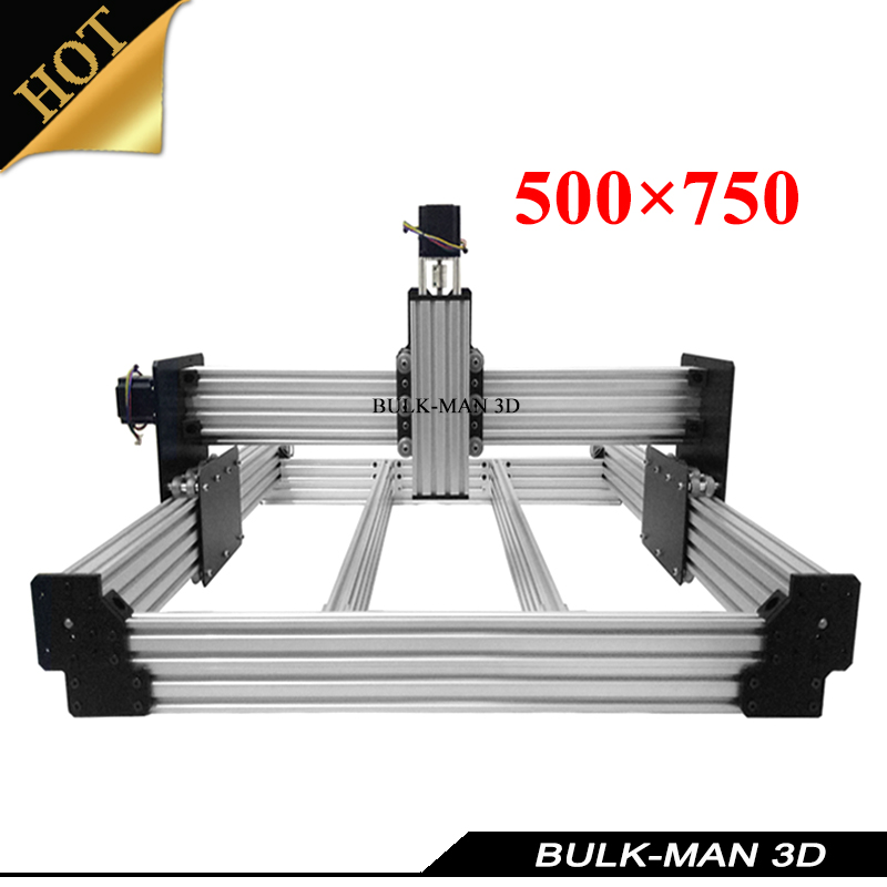 OX Upgrade Version WorkBee CNC Mechanical Kit for DIY CNC Engraving Machine,Milling Machine,Wooding Router 500*750mm workbee cnc aluminum plates kit lead screw driven and belt version for workbee cnc router machine cnc engraving machine