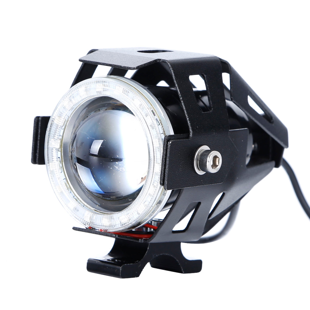 CREE U7 Marquee Angel Eye Motorcycle Headlight (3)