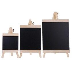سطح المكتب رسالة المجلس السبورة الحامل السبورة الاطفال الخشب لوحات كتابة لطي اللوازم المدرسية حجم S