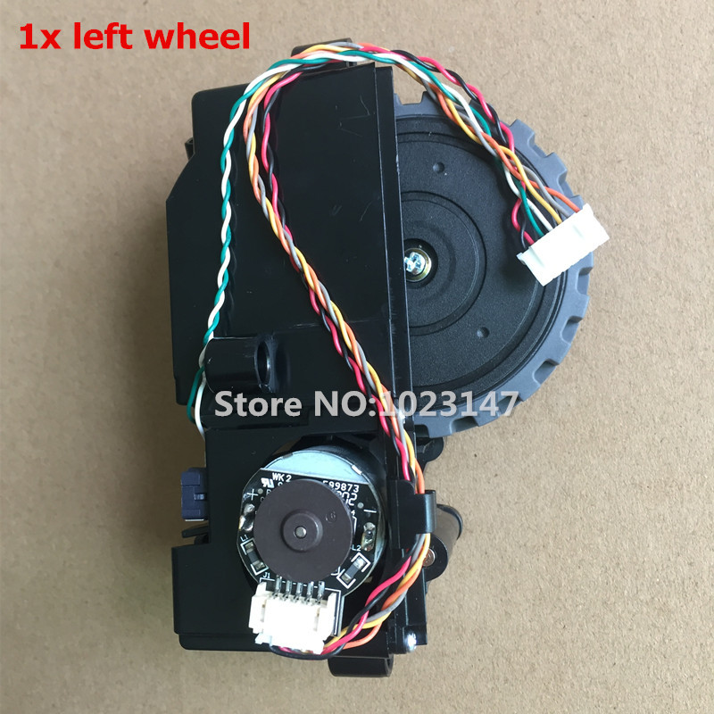 1 piece Original Robot Left Wheel for ilife v7 ilife v7s pro Robotic Vacuum Cleaner Parts (Including wheel motors) chuwi ilife toddler kids baby girls boho long foral princess party dress prom beach maxi sundress print lovely casual long sleeve dresses