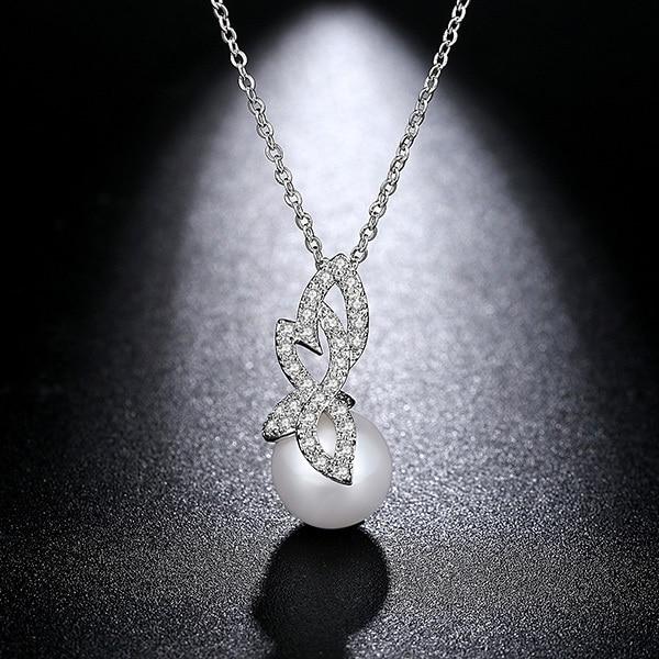LUOTEEMI Jewelry White...