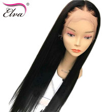 Elva Hair 180 Density 360 Lace Frontal Wigs Pre Plucked With Baby Hair 10 22 Natural