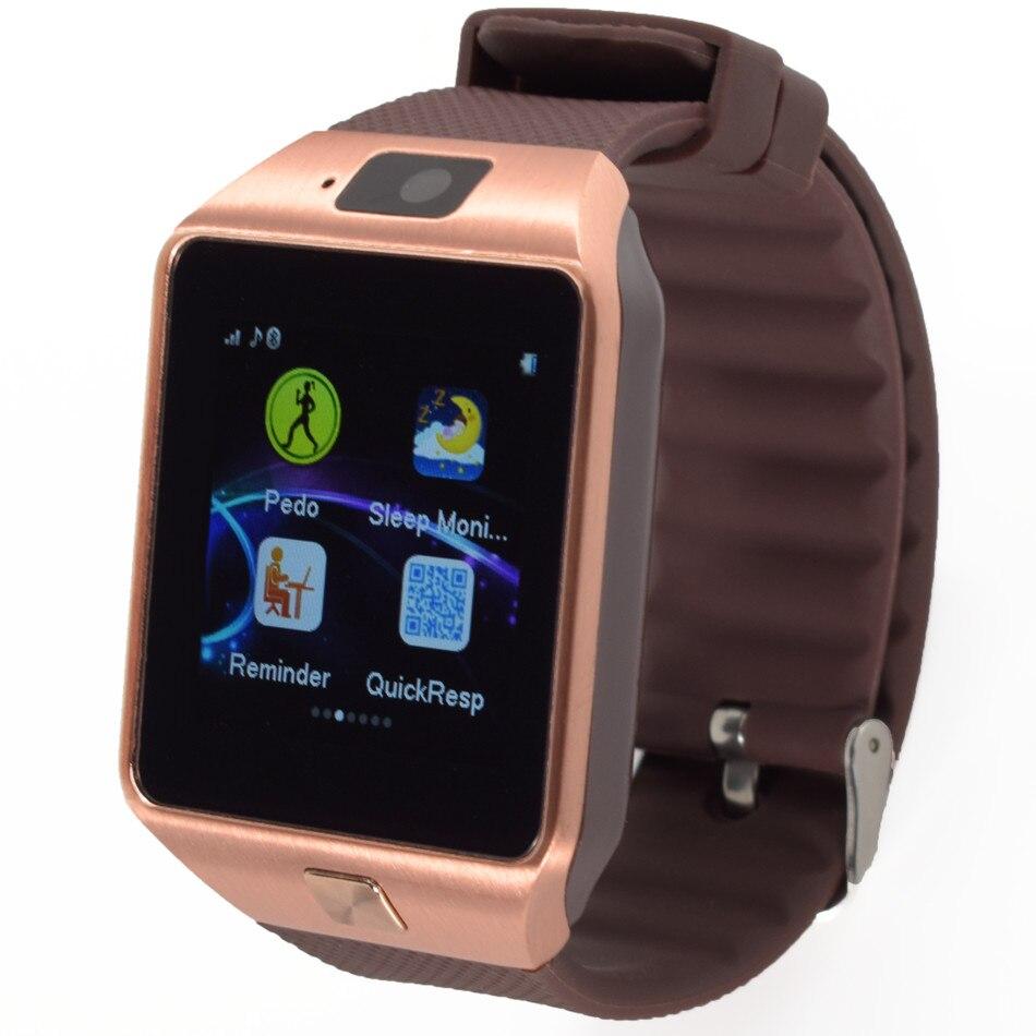Relógio inteligente Sincronização do Relógio G1 Notifier Suporte SIM Card TF Conectividade Android Telefone Smartwatch Tcheco Holandês Húngaro Hebraico Árabe