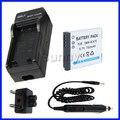 Battery + Charger for Panasonic Lumix DMC-S1,DMC-S3, DMC-SZ1,DMC-SZ5,DMC-SZ7, DMC-TS20,DMC-TS25,DMC-FT20,DMC-FT25 Digital Camera