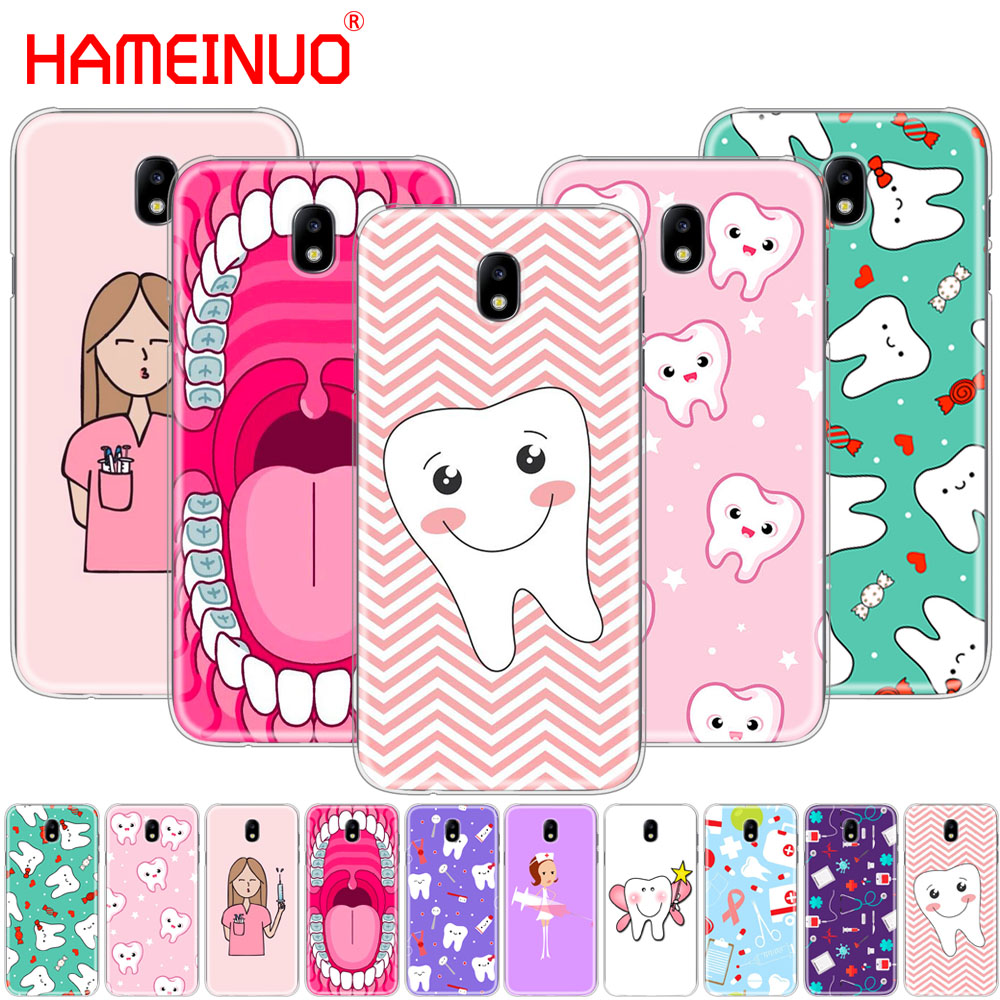 Nurse Doctor Dentist Stethoscope Tooth Injections Phone Case Cover For Samsung Galaxy A3 A310 A5 A510 A7 A8 A9 2016 2017 2018 Phone Bags & Cases
