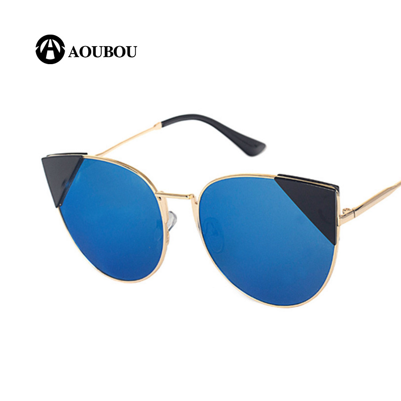 AOUBOU Fashion Cat Eye Occhiali da sole Donna Designer di marca - Accessori per vestiti