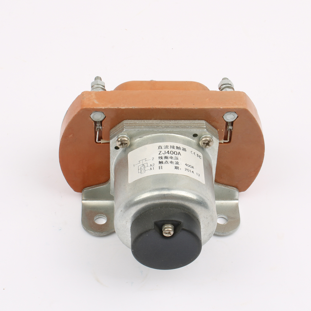 NO (normally open) 12V 24V 36V 48V 60V 72V 400A DC Contactor for motor forklift electromobile grab wehicle car winch ZJ400A