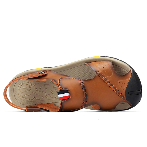 VESONAL 2019 Summer Non-slip Outdoor Hiking Shoes Men Casual Sandals Breathable Fashion Comfortable Beach Sandals 9087 Multan