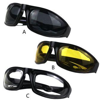 Condução da motocicleta óculos de proteção da motocicleta óculos de sol à prova vento equitação motor ciclismo ao ar livre universal 1