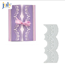 Julyarts Cutting Die Lace Edges Metalen Stansmessen Stencils Voor Scrapbooking Stempel Fotoalbum Card Punches