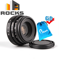 Mini 25mm  F1.8 APS-C Television TV Lens/CC TV Lens For 16mm C Mount Camera