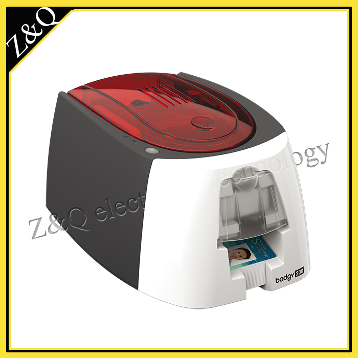 Evolis Badgy200 card printer use CBGR0100C Color Ribbon evolis r5f005saa for use with the evolis primacy id pvc card pritners update to r5f008saa