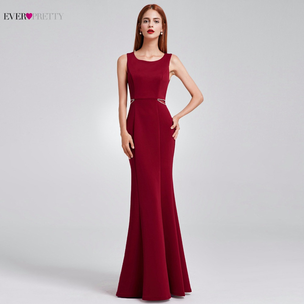 2016 Mother Of The Bride Dresses Ever Pretty HE08755MB Mermaid Sleeveless Long Brides Mother Dresses For