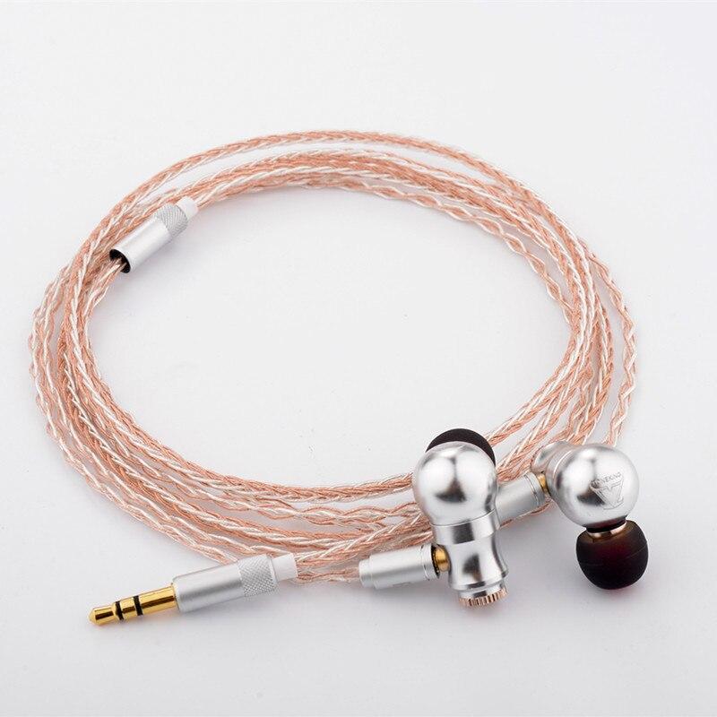2018 nouveau TONEKING neuf queue dans l'oreille écouteurs en alliage complet écouteurs neuf airs HIFI fièvre métal casque MMCX écouteurs BL1/TO600/65 - 6