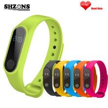 M2 SmartBand браслет сердечного ритма Мониторы Bluetooth Спорт Здоровье Фитнес трекер умный Группа Браслет