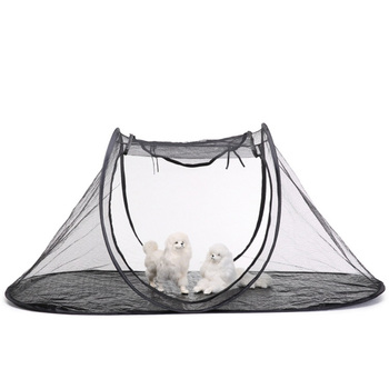 1PCS Outdoor Tourism Cat Dog House Dog Tent Field Cooling Mat for Dogs Waterproof Oxford Cloth Mesh Breathable Tent Pet Supplies