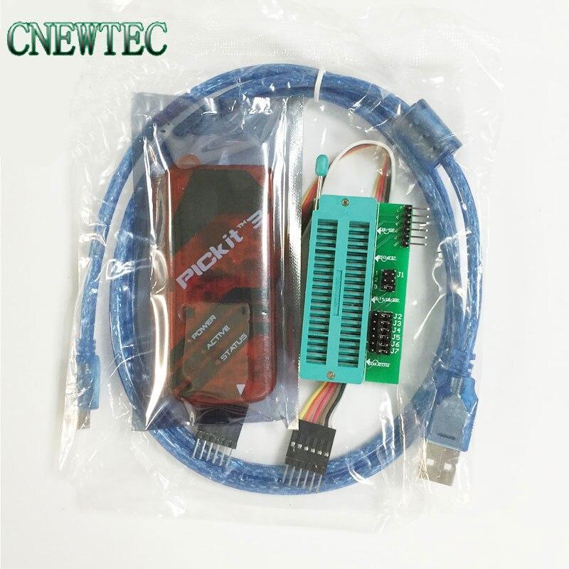 815.39руб. |Программатор PICKIT3 + PIC ICD2 PICKit 2 PICKIT 3, универсальный программатор Seat|adapter telephone|adapter ds|seat adapter - AliExpress