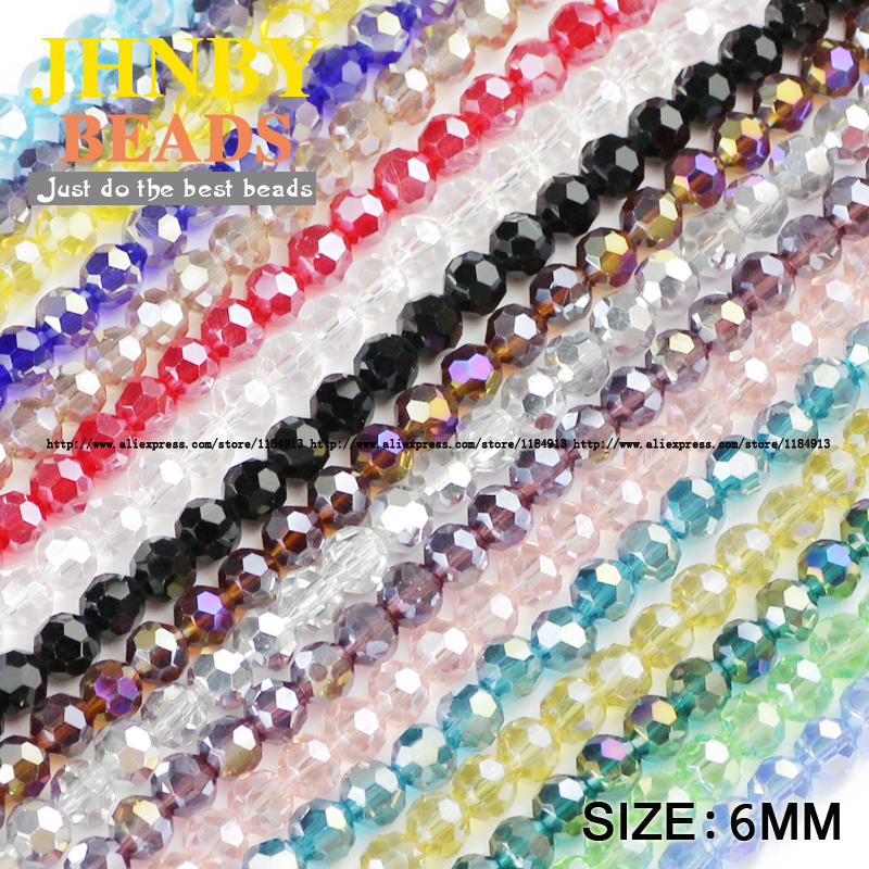 Nice Jhnby Bread Shape Austrian Crystal Beads 50pcs High Quality 5*8mm Matte Glass Flat Round Loose Beads For Jewelry Making Bracelet Beads & Jewelry Making