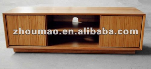 2017 Fishion Design Bamboo Tv Stand