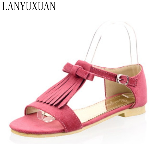 2017 Hot Sale Fashion Sandalias Mujer Plus Big Size 34-44 Shoes Women Sandals Sapato Feminino Summer Style Chaussure Femme -58 lanyuxuan 2017 new hot sale sandals