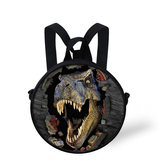Aliexpress.com : Buy Cool Children School Bag 3D Dinosaur Print ...