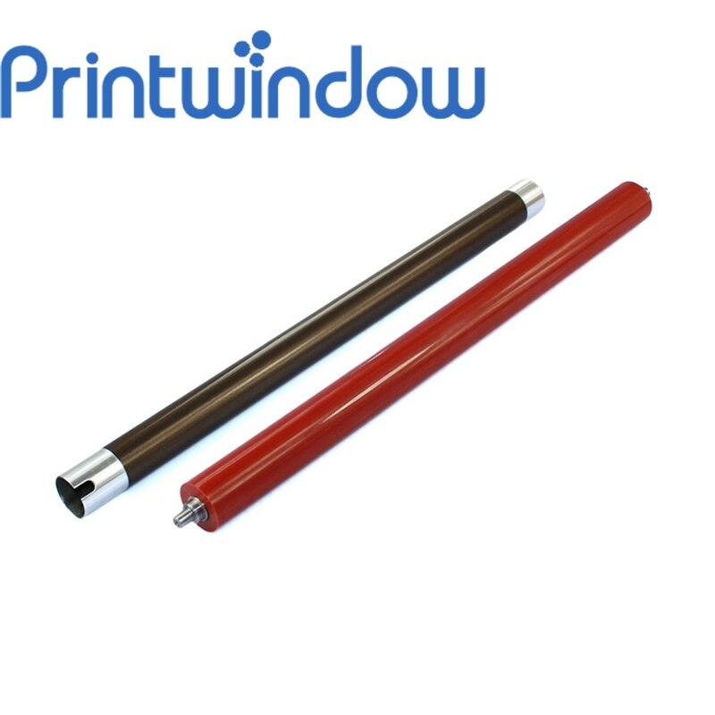 Printwindow 6X/set Upper Fuser Roller/4pcs+Pressure/Lower Fuser Roller/2pcs for Kyocera KM6030 KM8030 lower sleeved roller for hp cp4025 cp4525 cp3525 cm3530 4025 4525 3525 3530 lower pressure roller fuser roller on sale