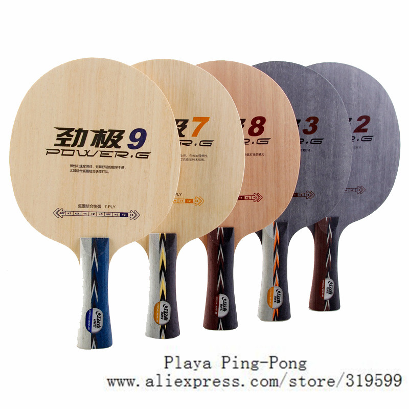 цена DHS POWER G2 PG3 PG7 PG 7 PG8 PG9 PG2, PG 2 without box Loop+Attack OFF Table Tennis Blade for PingPong Racket