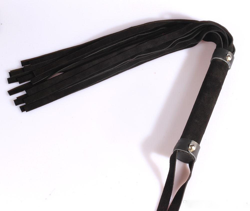 spanking-60cm-black-suede-leather-flogger