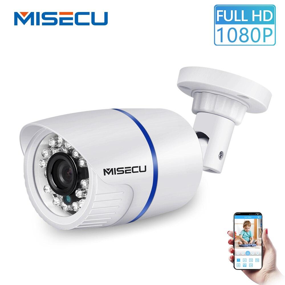 MISECU H 265 Outdoor IP Camera PoE 1080P ABS Case Email Alert XMEye ONVIF  P2P Motion Detection RTSP Surveillance CCTV Security