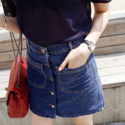 Cheap wholesale 2017 spring summer popular hot selling hip slim all-match women sexy short Skirt Lady work Denim Skirt