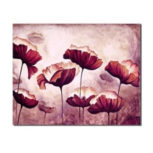 Laeacco Canvas Calligraphy Painting Watercolor Graffiti Abstract Blooming Flowers Creative Posters and Prints Home Decoration