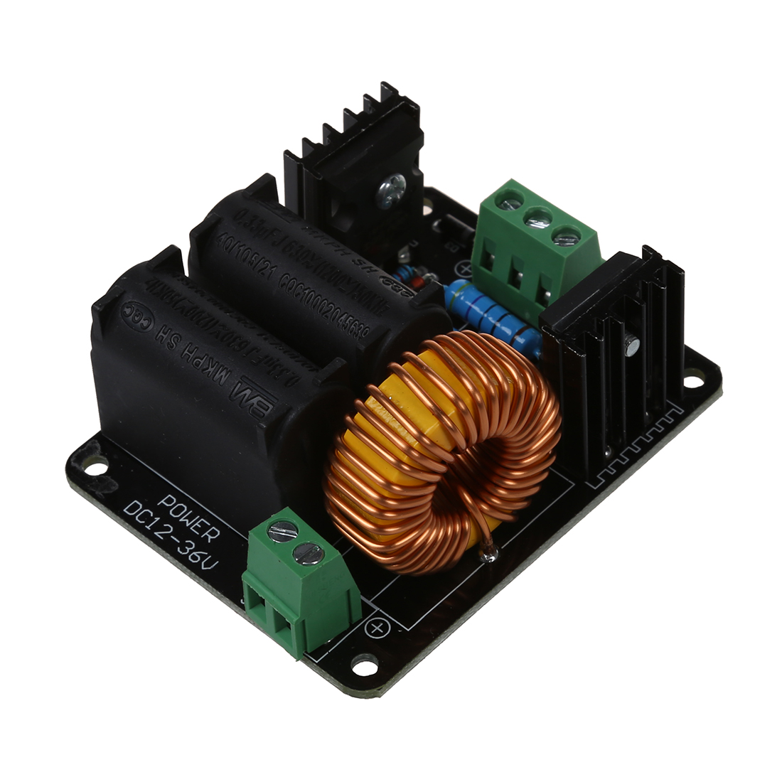 medium resolution of 12v 36v zvs tesla coil flyback driver marx generator jacob s ladder ignition coil