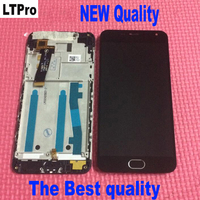 100 Warranty Frame LCD Display Touch Screen Digitizer Assembly Home Bottom For Meizu M2 Meilan 2