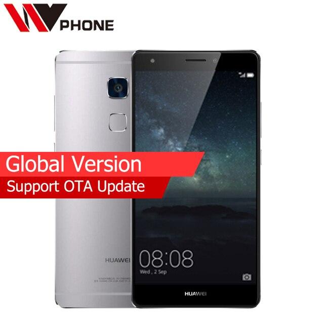 Первоначально Глобальный Версия Huawei Mate s 3 г оперативной памяти 32 г ROM Android 5.1 Мобильный телефон 5.5 дюймов спереди 8MP Сзади 13MP отпечатков пальцев