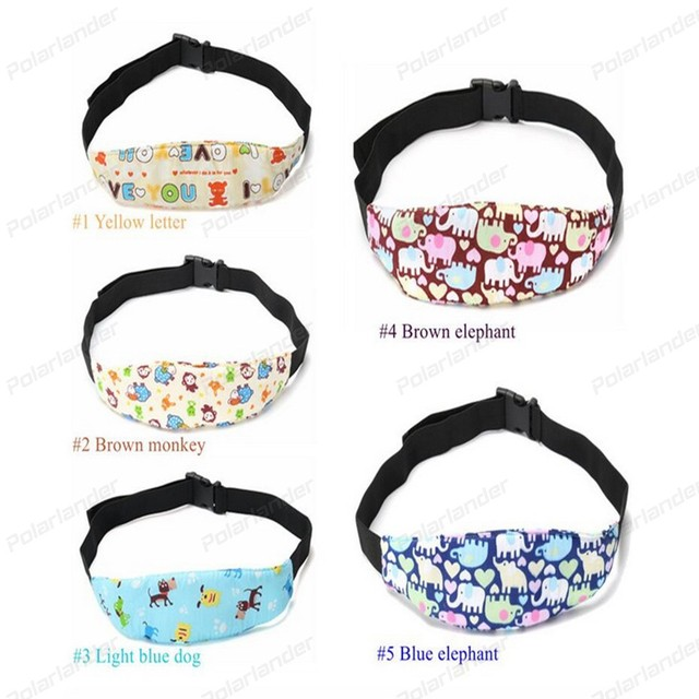 Baby Car Seat Headrest Sleeping Head Support Neck Pad Cover For Kids Travel Body Trottie
