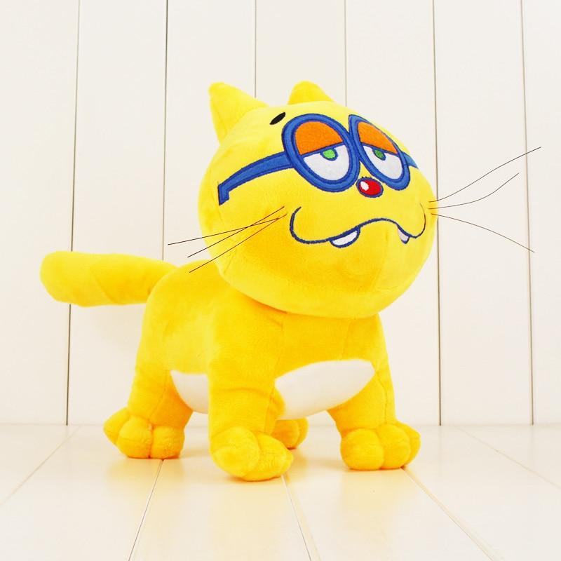 25cm Osomatsu Kun Pet Cat Plush Toy Yellow Cat Of Matsuno Ichimatsu
