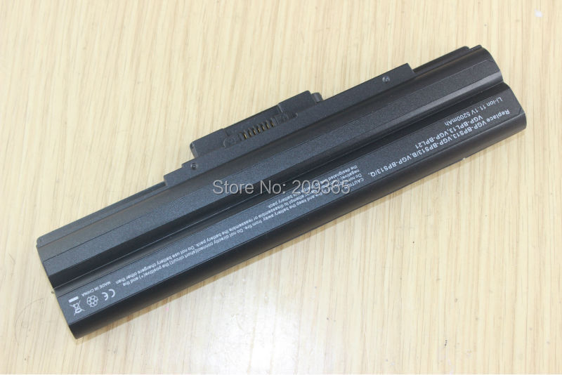 Image 2 - 5200mAh 6Cell Laptop Battery for SONY VAIO VGP BPS13/S VGP BPS13A/S VGP BPS21/S VGP BPL21A VGP BPS13A/B VGP BPS21B VGP BPL13-in Laptop Batteries from Computer & Office