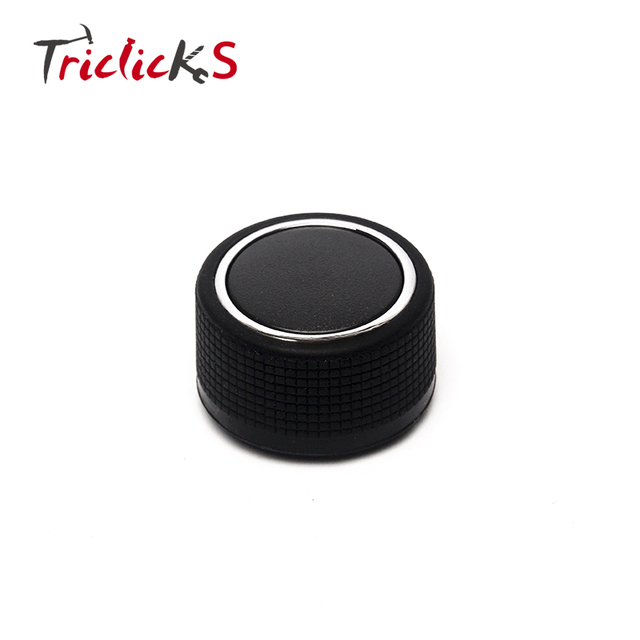 Triclicks For 07-14 GMC Chevrolet Caddillac Buick Rear Radio Music Control Knob Button Car Volume Controller Knobs 22912547 New