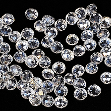 White AB Colors 4*6mm 100pcs Rondelle Austria faceted Crystal Glass Beads Loose Spacer Round Beads for Jewelry Making