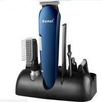 Electric Man Grooming Trimmer Kit Face Mustache Hair Clipper Trim Beard Shaver Head Haircut Men Groomer Body Hair Removal Razor|Hair Trimmers| |  -